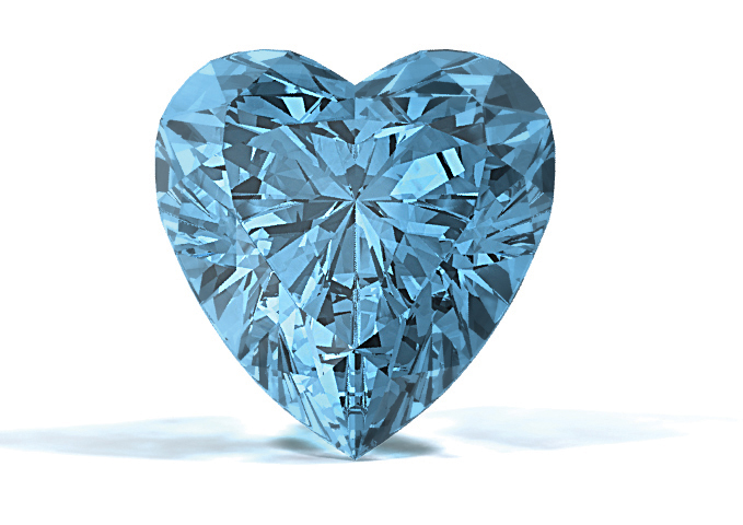 Sky Blue Diamond