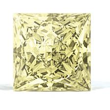 Sunny Yellow Diamond