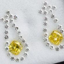 Canary Ice Earrings