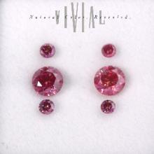 Purplish Pink Earrings